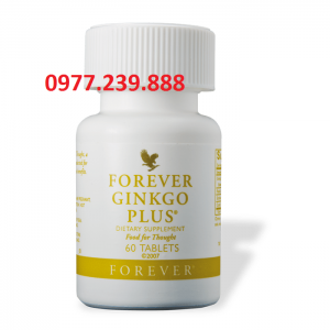vien bo sung dinh duong Forever Ginkgo Plus lo hoi