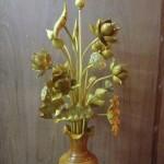 bán hoa sen gỗ thờ