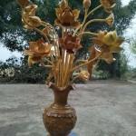hoa sen gỗ mít đục