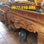 mẫu sập thờ gỗ gụ có sẵn