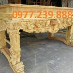 sập gỗ hương chân 16