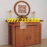 án thờ hiện đại gỗ gụ