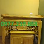án thờ tổ tiên hiện đại gỗ