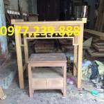 bàn thờ gỗ 2 cấp