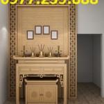 bàn thờ gỗ tổ tiên