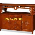 bàn thờ gỗ tổ tiên giá gốc