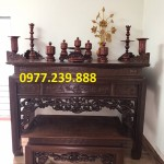 bàn thờ tổ tiên gỗ sồi nga