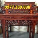 bàn thờ tổ tiên gỗ tần bì