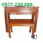 bán bàn thờ gỗ tổ tiên