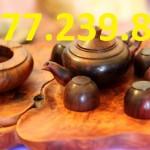 bình ly gỗ hương