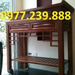 mẫu bàn thờ gia tiên gỗ ở hà nội
