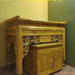 mẫu bàn thờ gia tiên gỗ mít