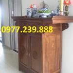 mẫu thiết kế án gian gỗ chung cư