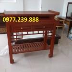 mẫu thiết kế án gian gỗ sơn pu
