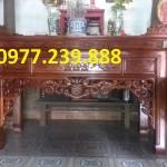 mẫu thiết kế bàn thờ gỗ gụ lào