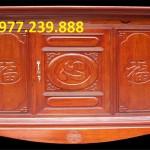 mẫu thiết kế bàn thờ gỗ hương