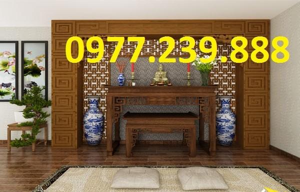 mẫu thiết kế hiện đại án gian gỗ giá rẻ