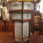 đèn lồng gỗ hương hàng đẹp