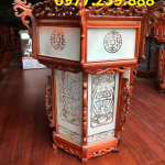 bán đèn lồng bằng gỗ trang trí