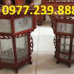 bán đèn lồng gỗ hương đá