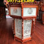 bán đèn lồng gỗ hương trang trí