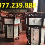 bán đèn lồng treo bằng gỗ hương ta