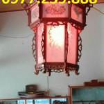 lồng đèn việt gỗ hương đá