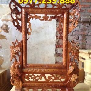khung ảnh đơn bằng gỗ mít kích thước 20x30cm